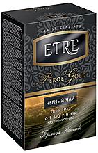 «ETRE», pekoe Gold чай чёрный, крупнолистовой, 100г