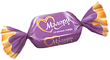 Конфеты жевательные «Мэлори» со вкусом тоффи (упаковка 1кг)