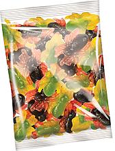 Мармелад жевательный в виде разноцветных паучков (упаковка 1кг)