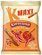 «Кириешки Maxi», сухарики со вкусом сладкого чили, 60г