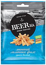 «Beerka», минтай сушёно-вяленый, 25г