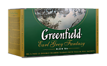 Чай черный «Greenfield» Earl Grey,25 пакетиков, 50г
