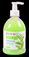 Мыло жидкое «DomHit» Антибактериальное Зеленый чай, 500мл