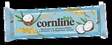 Батончик «Cornline» из цельных злаков с кокосом и воздушным рисом, 30г