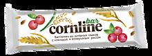 Батончик «Cornline» из цельных злаков с клюквой и воздушным рисом, 30г