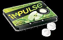 Пастилки «IMPULSE» со вкусом яблока, без сахара, 14г