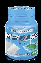 Жевательная резинка «IMPULSE» со вкусом «Мята», 56г