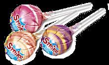 Карамель на палочке «Strike» с молочным вкусом, 11г