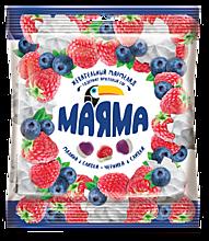 Мармелад жевательный «Маяма» Черника и малина со сливками, 70г