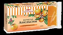 Мармелад желейный «Озерский сувенир» Апельсин в виде кубиков, 180г