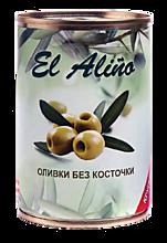 Оливки «EL alino» крупные, без косточки, 290мл
