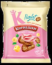 Сухарики «Кириешки Light» со вкусом ветчины с сыром, 33г
