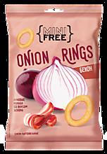 Луковые кольца «Mini Free» со вкусом бекона, 45г