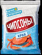 Чипсы «Чипсоны» со вкусом краба, 40г