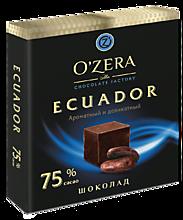 Шоколад «O'Zera» Ecuador, 90г