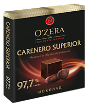 Шоколад «O'Zera» Carenero Superio горький, 90 г