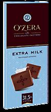 Шоколад «O'Zera» Молочный Extra milk, 90г