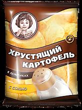 Чипсы «Хрустящий картофель» с солью, 40г