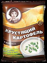 Чипсы «Хрустящий картофель» со вкусом сметаны и лука, 160г