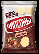 Чипсы «Чипсоны» со вкусом шашлыка, 40г