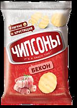 Чипсы «Чипсоны» со вкусом бекона, 40г