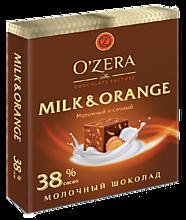 Шоколад молочный «OZera» Milk & Orange, 90г