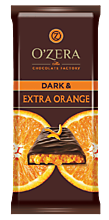 Шоколад «OZera» Dark&Extra orange, 90 г