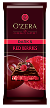 Шоколад горький «OZera» Dark & Red berries, 90 г
