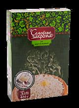 Рис «Семейные закрома» круглозерный в пакетиках, 400г