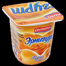 Пудинг 3% «Ehrmann» Эрмигурт карамельный, 100г