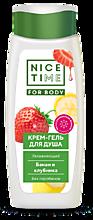Крем-гель «Nice Time» Клубника и банан, 400мл