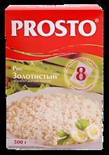 Рис «Prosto» Золотистый длинный в пакетиках, 500г