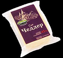 Сыр 45% «Сармич» Чеддер, 200г