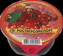 Фрукты в желе «Ростагроэкспорт» вишня, 150г