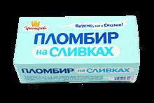 Мороженое «Гроспирон» Пломбир на сливках ванильный, 240г