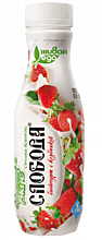 Йогурт питьевой 2% «Слобода» с клубникой, 290г