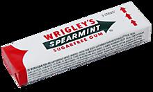 Жевательная резинка «Wrigley`s  Spearmint» с ароматом мяты без сахара, 13г