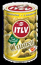 Оливки «ITLV» с лимоном, 314г
