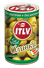 Оливки «ITLV» без косточки, 300г