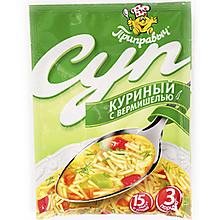 Суп «Приправыч» Куриный с вермишелью, 60г