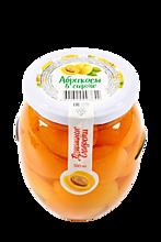 Абрикосы в сиропе «Домашние сладости» 580 мл