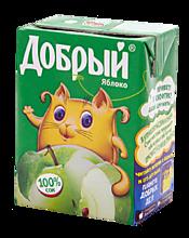 Сок яблочный «Добрый», 200мл