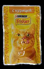 Корм для кошек «Friskies» Курица с подливом, 85г