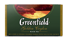Чай черный «Greenfield» Golden Ceylon, 25 пакетиков