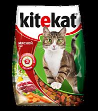 Сухой корм для кошек «Kitekat» Мясной пир, 350г