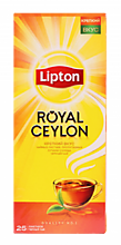 Чай черный «Lipton» Royal Ceylon 25пак