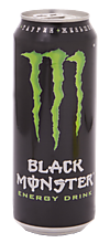 Напиток энергетический безалкогольный «Black Monster», 449мл