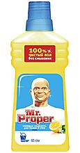 Чистящее средство для полов и стен «MR Proper» Лимон, 500мл