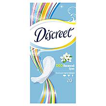 Прокладки «Discreet» ежедневные Део, 20шт