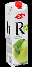 Сок яблоко «Rich», 1л
